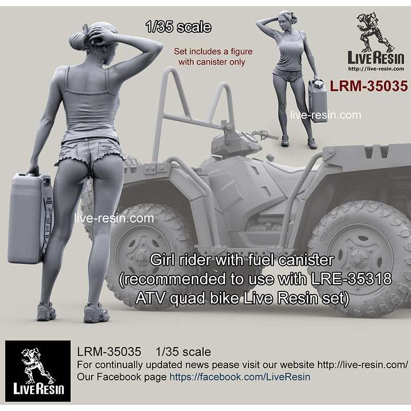 【新製品】LRM-35035 女性ライダー オイルタンク持ち