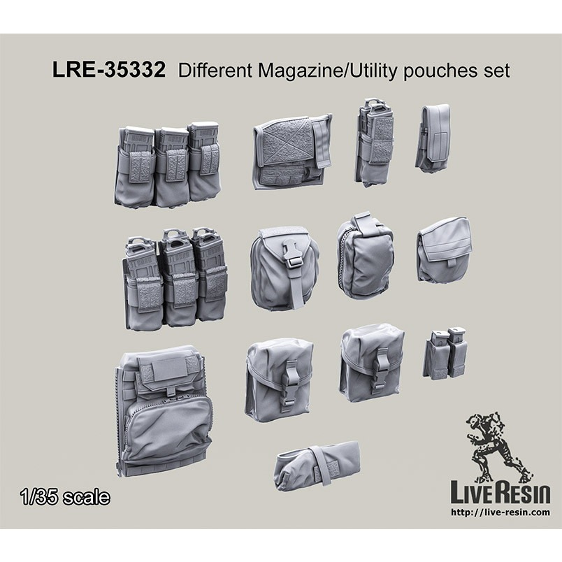 【新製品】LRE-35332 Different Magazine/Utility pouches set