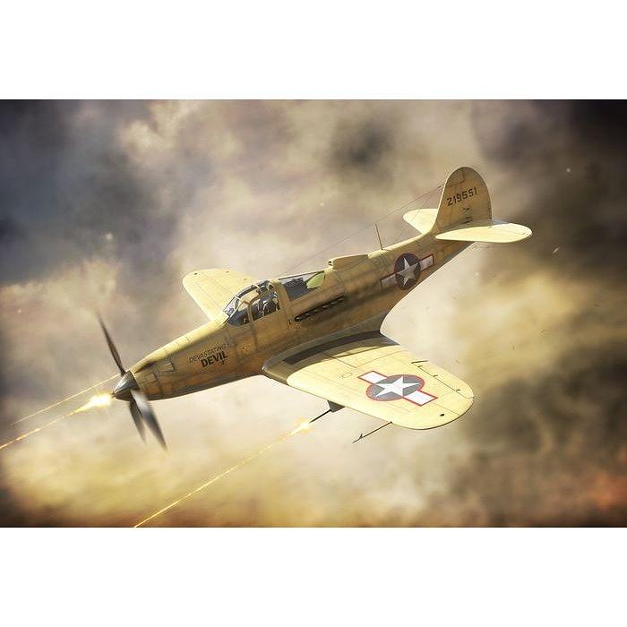 【新製品】BRP144012 ベル P-39Q エアラコブラ