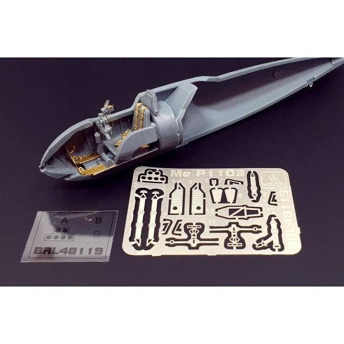 【新製品】BRL48119 メッサーシュミット Me P.1103