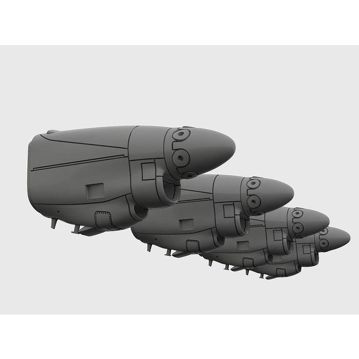 【新製品】BRL72170 C-130J ハーキュリーズ エンジンセット