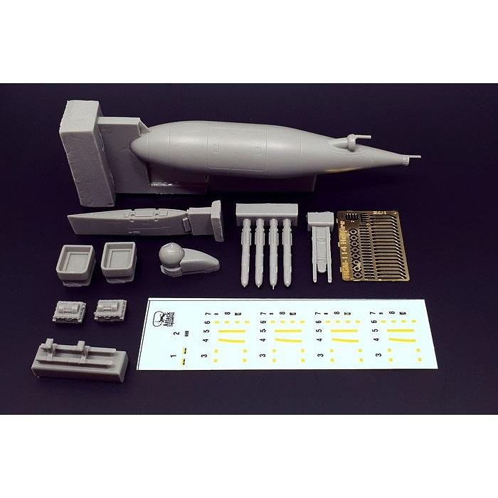 【新製品】BRL72172)KC-130J ハーベストホーク用パーツ
