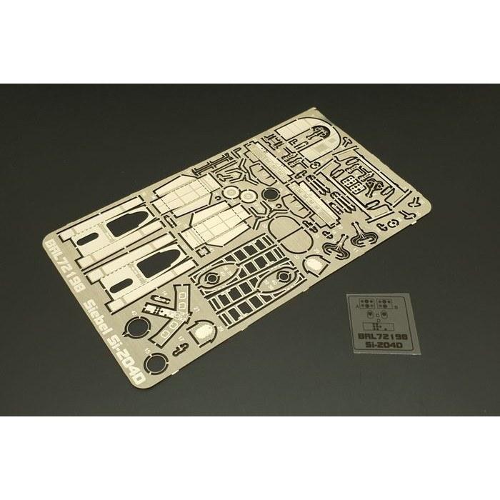 【新製品】BRL72198 ジーベル Si-204D エッチングパーツセット