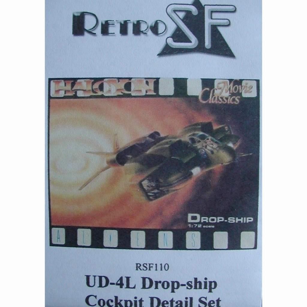 【新製品】RSF110 エイリアン2 植民地海兵隊 UD-4L ドロップシップ コクピットディテールセット