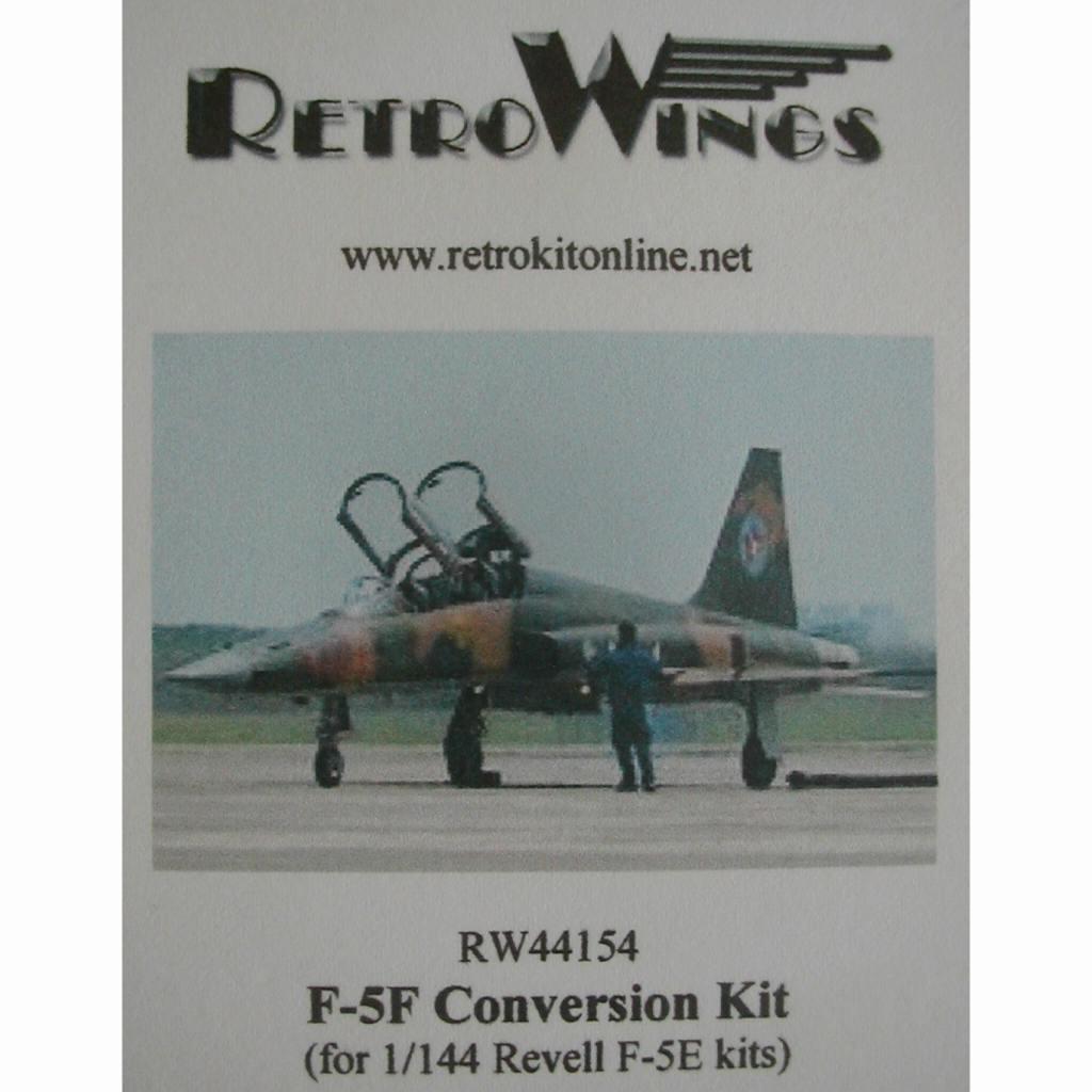 【新製品】RW44154 ノースロップ F-5F タイガーII コンバージョンキット