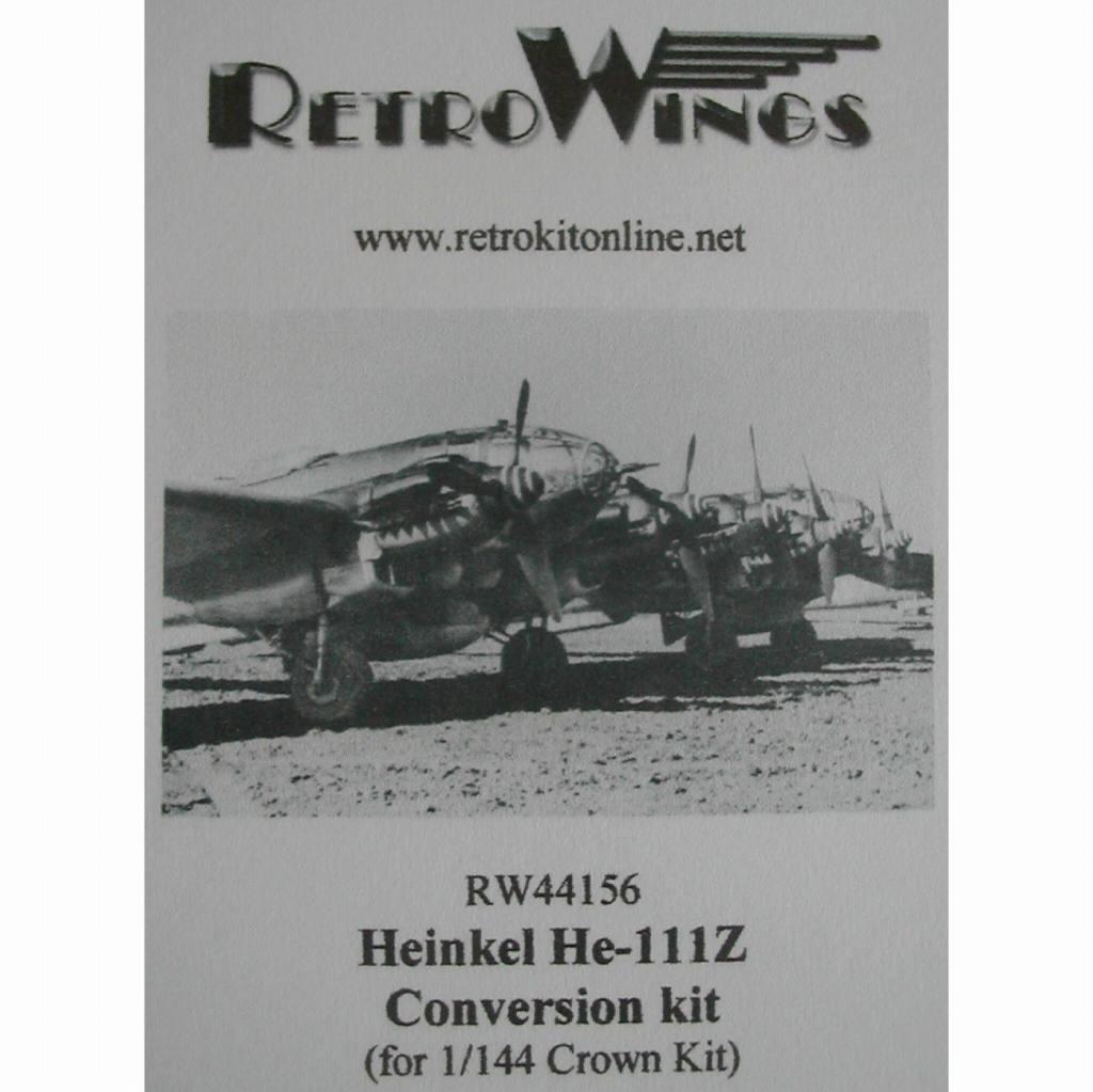 【新製品】RW44156 ハインケル He111Z ツヴィリング コンバージョンキット