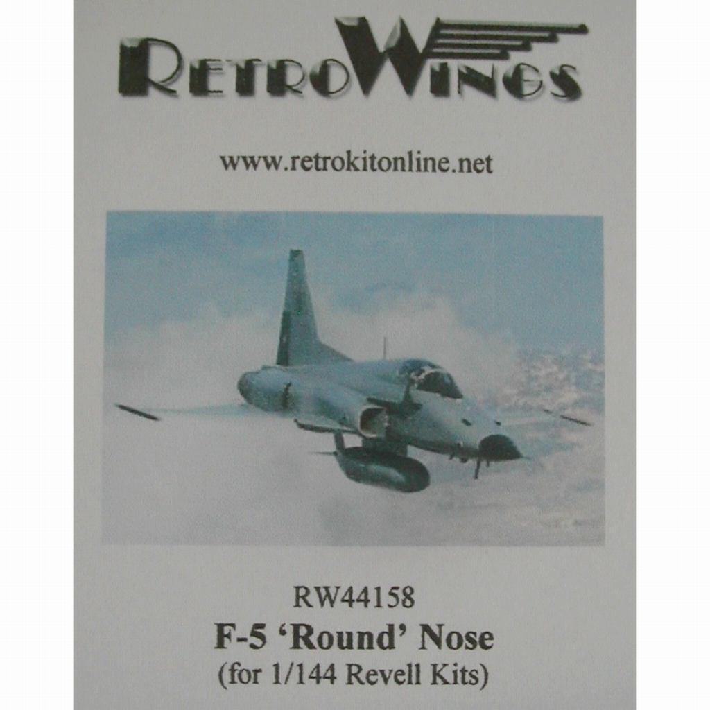 【新製品】RW44158 ノースロップ F-5 ラウンドノーズ