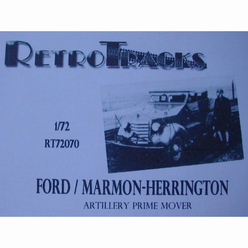 【新製品】R72070 WWII ベルギー フォード/マーモン・ヘリントン 砲兵トラクター