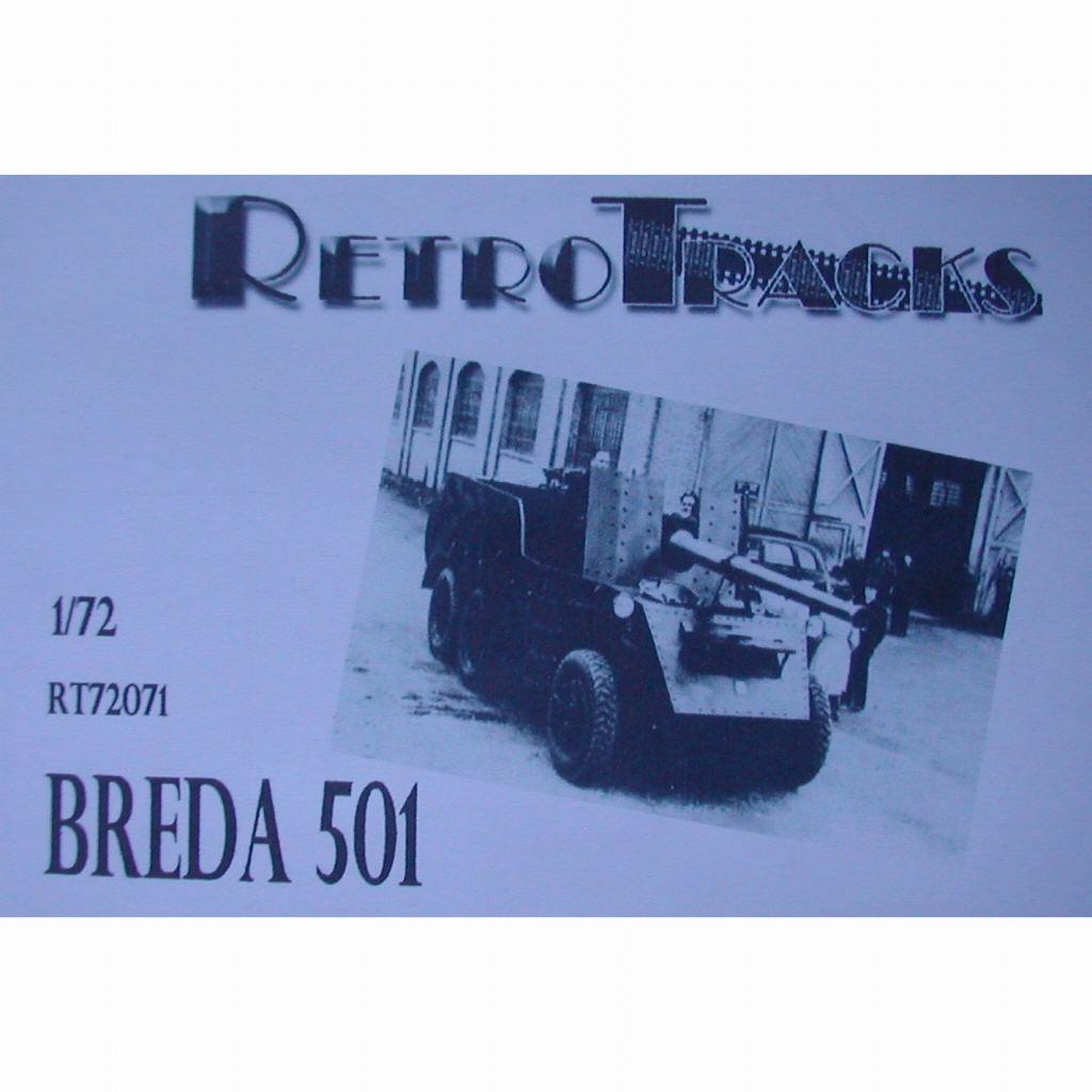 【新製品】R72071 WWII イタリア ブレダ501