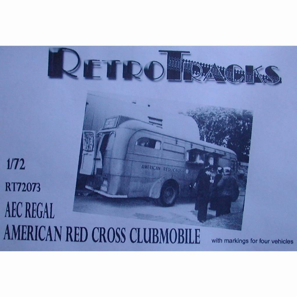 【新製品】R72073 WWII アメリカ AEC リーガルアメリカ赤十字クラブモービル