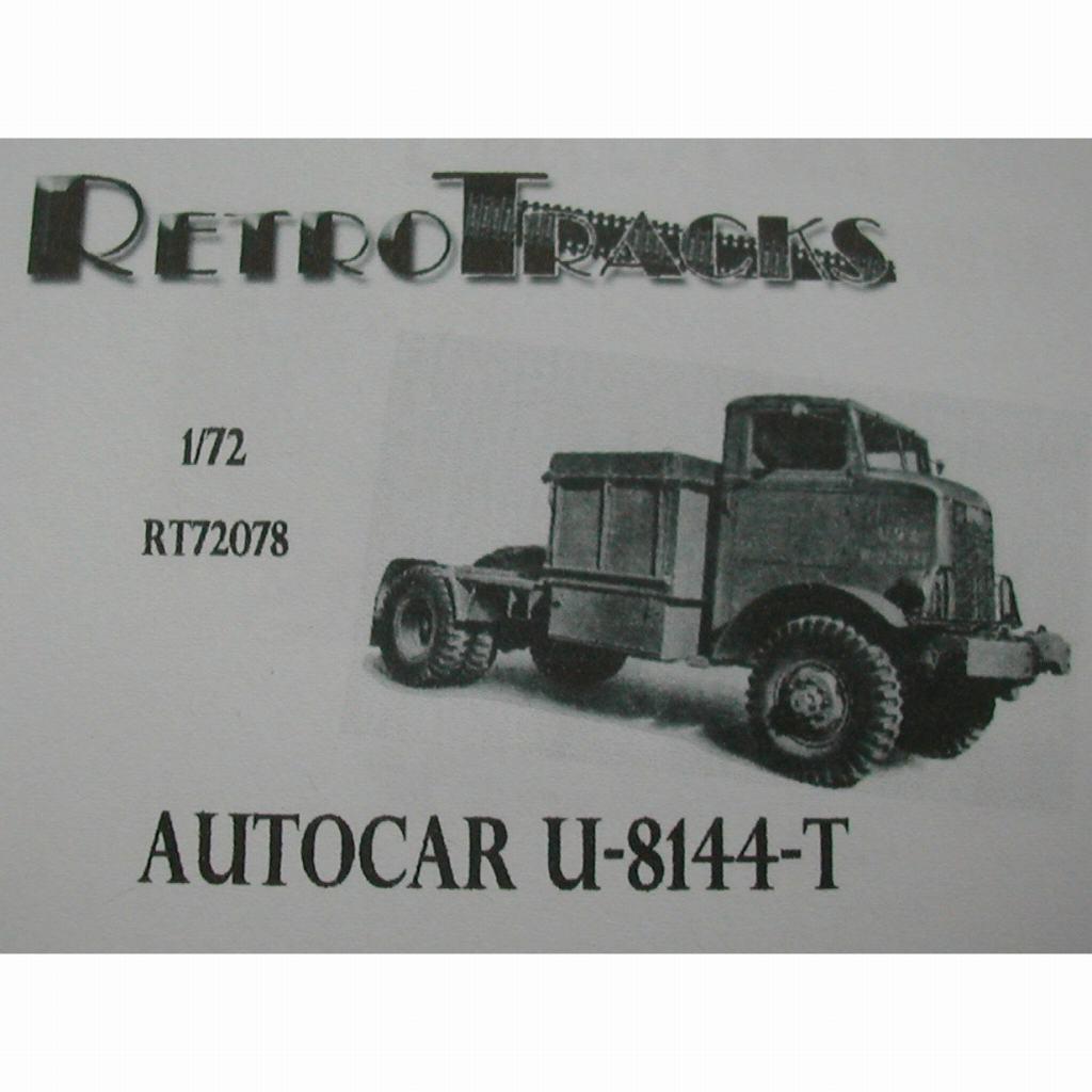 【新製品】R72078 WWII アメリカ オートカー U-8144-T トラクター