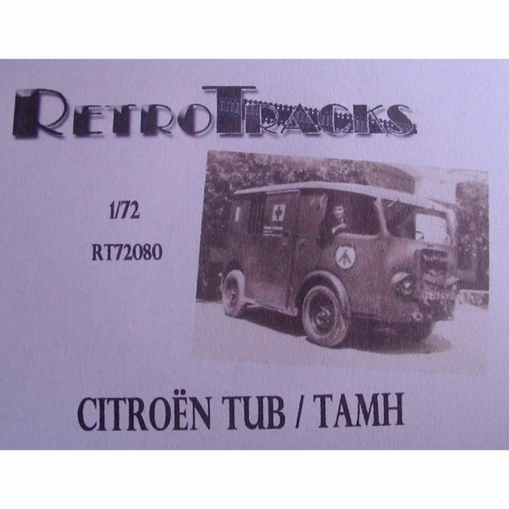 【新製品】R72080 WWII フランス シトロエン TUB/TAMH バン