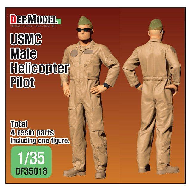 【新製品】DF35018 アメリカ海兵隊 ヘリコプターパイロット 男性 立像