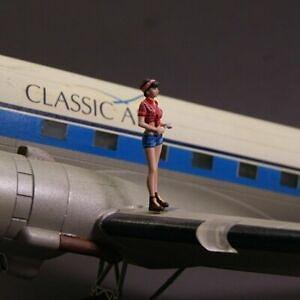 【新製品】NS-F-72017 飛行機 女性整備士