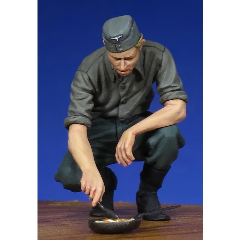 【新製品】35144 WWII 独 歩兵 「調理中」