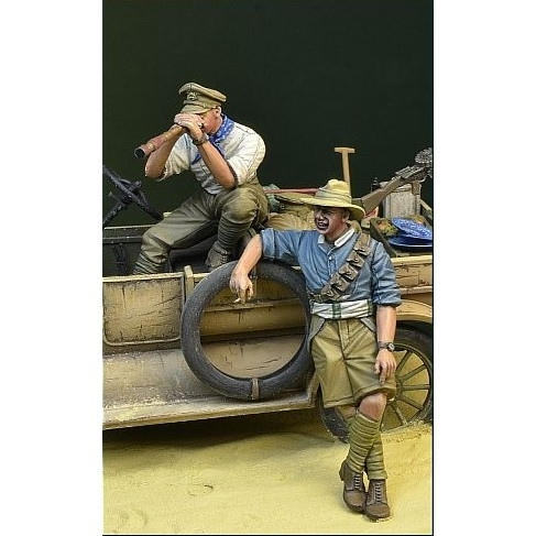 【新製品】DD35119 WWI オーストラリア・ニュージーランド軍団兵士セット1