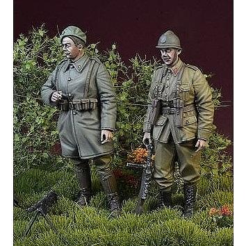 【新製品】DD35137 WWII ベルギー陸軍兵士セット「小休止するベルギー兵」1940年