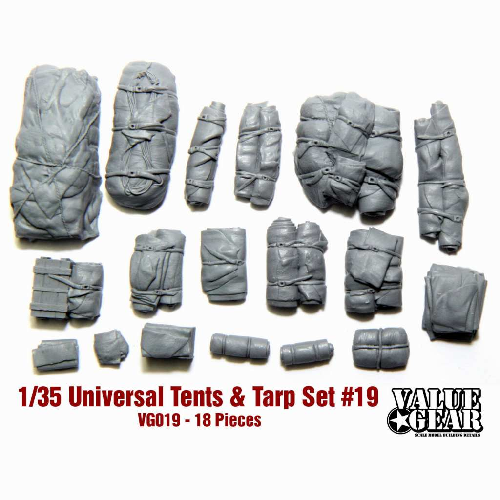 【新製品】VG019 テント & 防水シート #19 (16個)