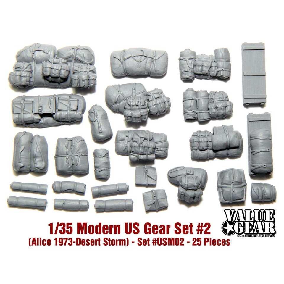 【新製品】USM02 現用アメリカ軍 装備品 #2 (アリスパック 1973-湾岸戦争)