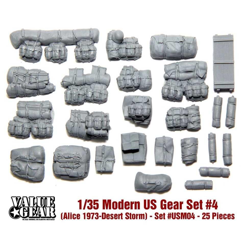 【新製品】USM04 現用アメリカ軍 装備品 #4 (アリスパック 1973-湾岸戦争)