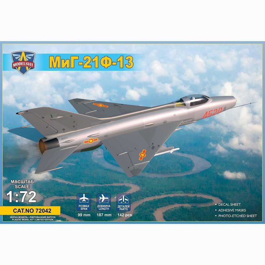 【新製品】72042 ミグ MiG-21F-13 フィッシュベッド