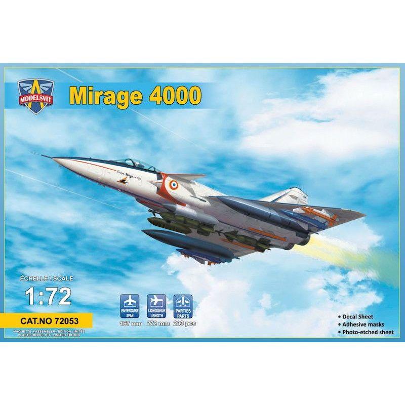 【新製品】72053 ミラージュ4000 試作戦闘機w/武装