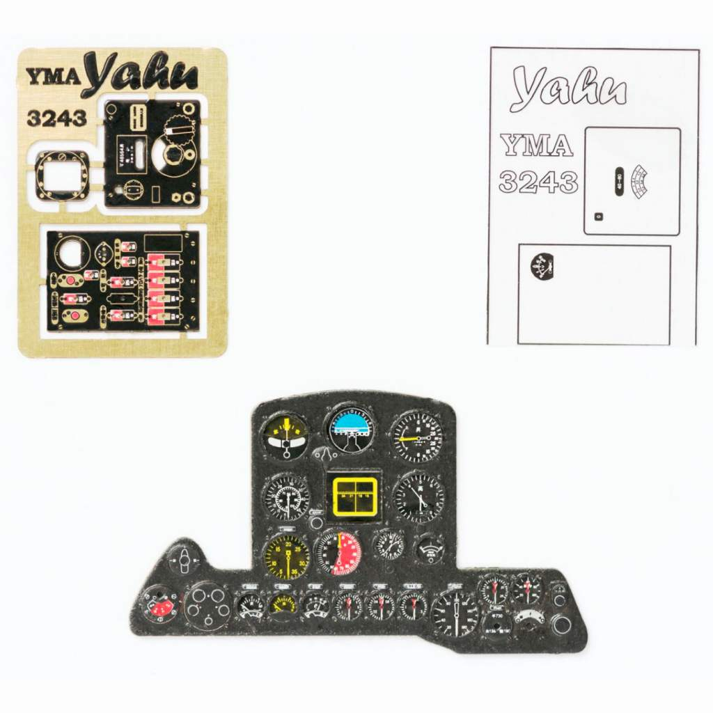 【新製品】YMA3243 中島 キ84 四式戦闘機 疾風 計器盤