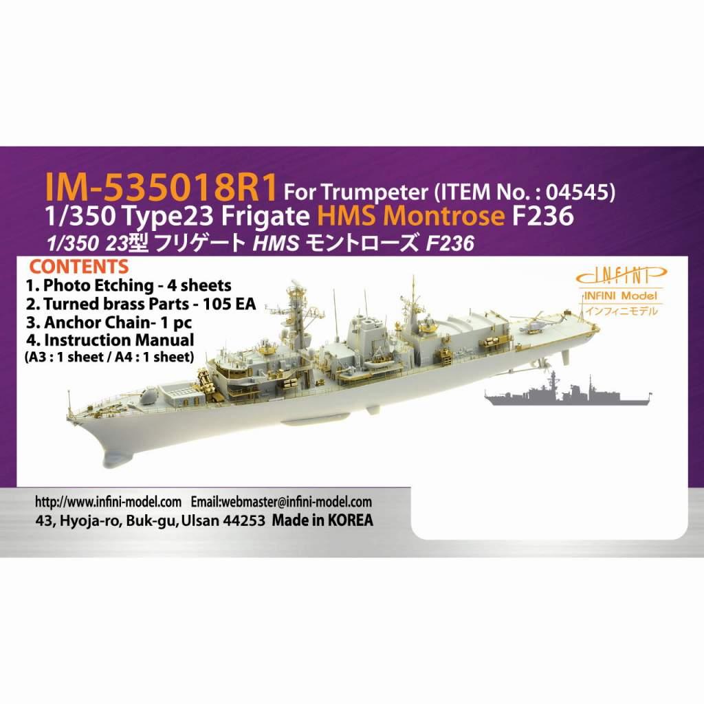 【新製品】IM-53518 イギリス海軍 23型フリゲート HMSモントローズF236用