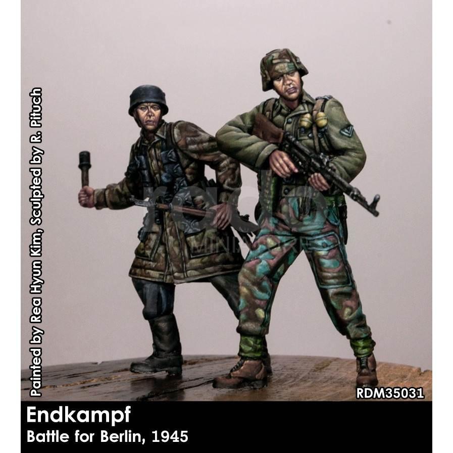 【新製品】RDM35031 WWII 最後の戦い ドイツベルリン1945(2体入り)