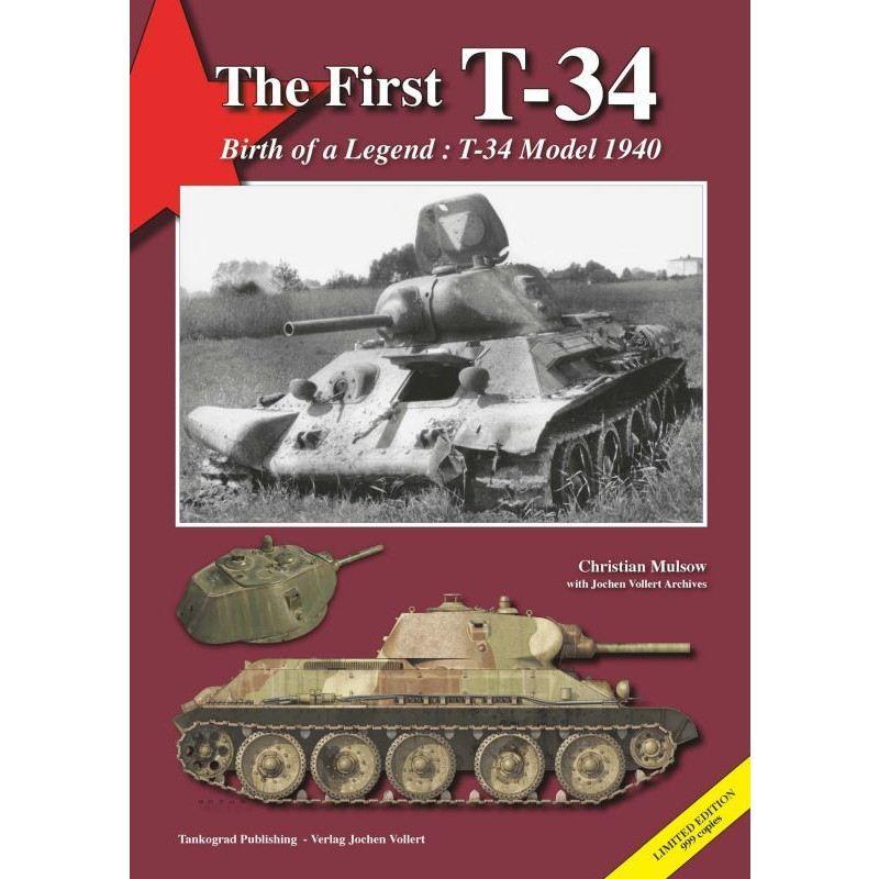 【新製品】TheFirstT-34 T-34の始まり T-34モデル1940-伝説の誕生