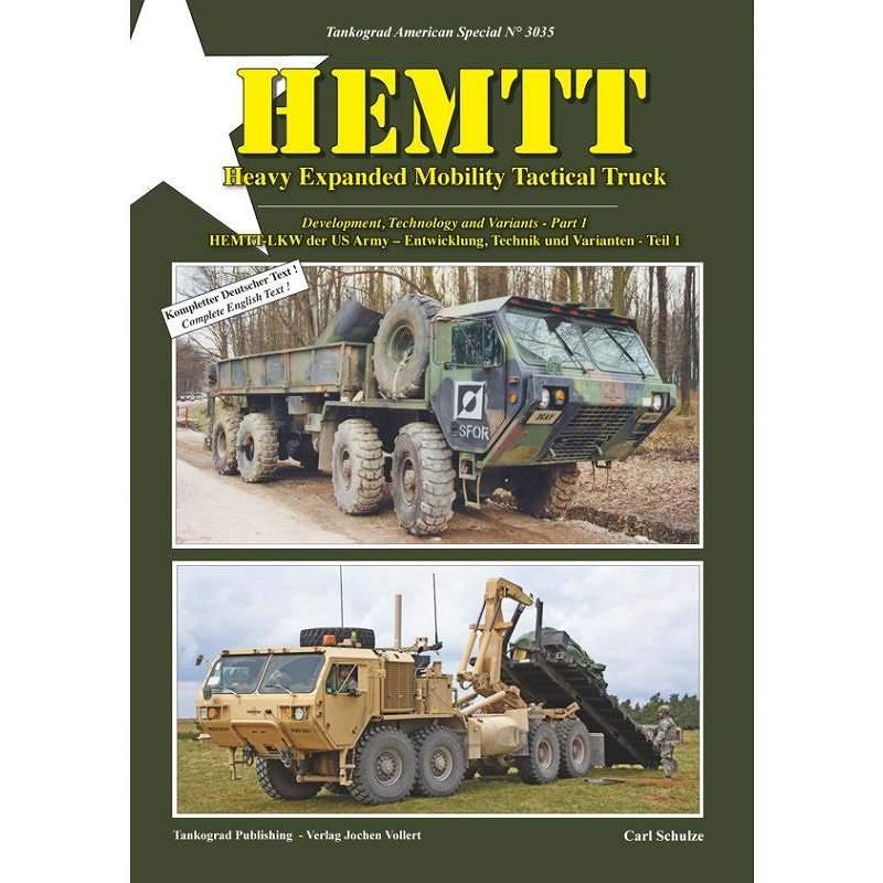 【新製品】3035 HEMTT 重高機動戦術トラック 開発と技術およびその派生 パート1
