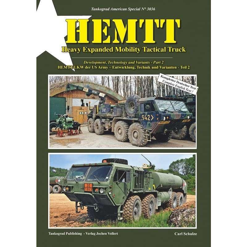 【新製品】3036 HEMTT 重高機動戦術トラック 開発と技術及びその派生 パート2