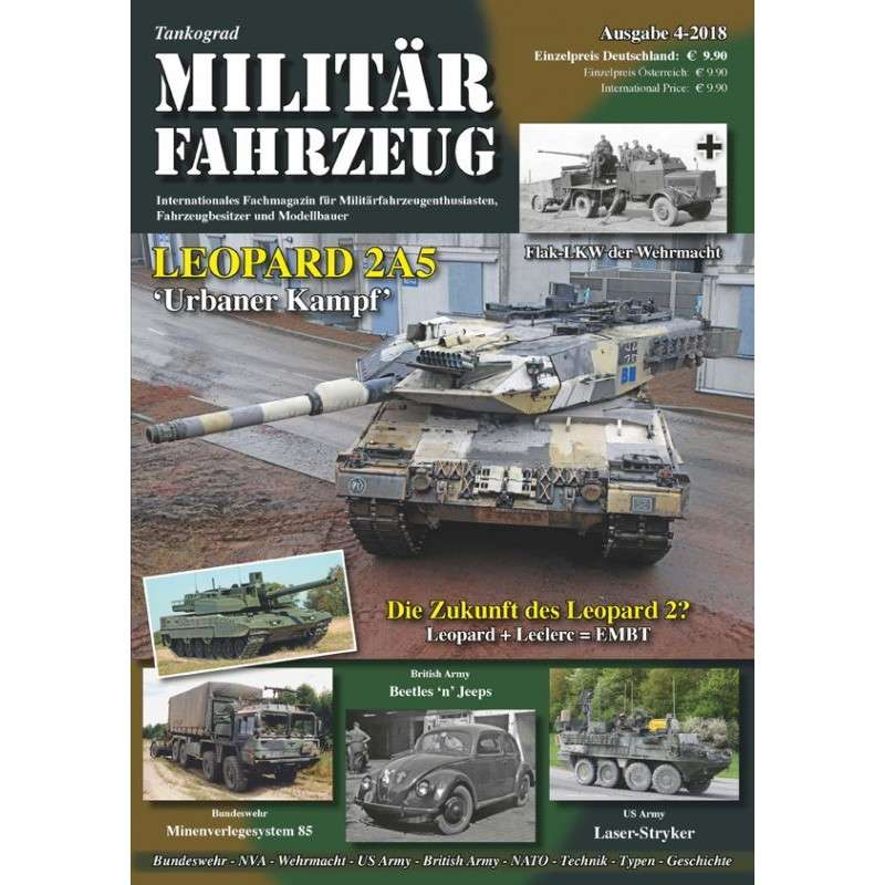 【新製品】Militarfahrzeuge 2018/4