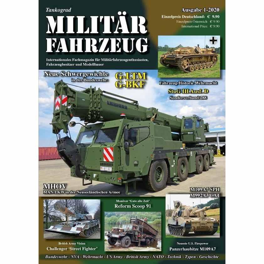 【新製品】Militarfahrzeuge 2020/1 ミリターフォールツォイク 2020年1号