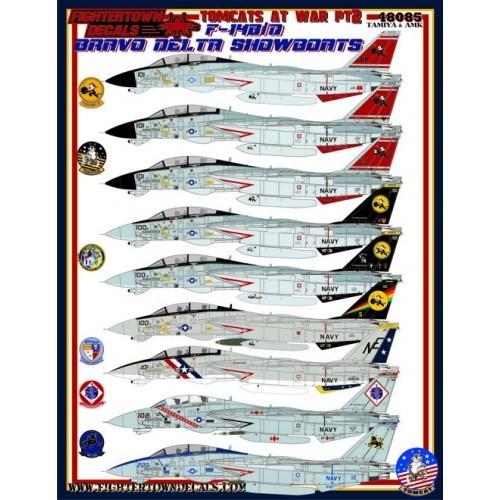 【新製品】48085 F-14B/D トムキャット・アット・ウォー Part.2 Bravo Delta Showboats