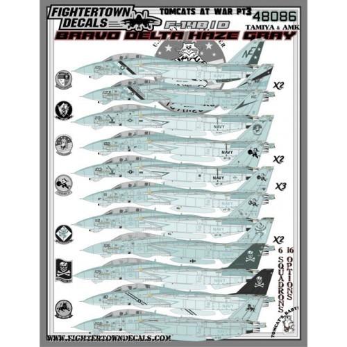【新製品】48086 F-14B/D トムキャット・アット・ウォー Part.3 Bravo Delta Haze Gray
