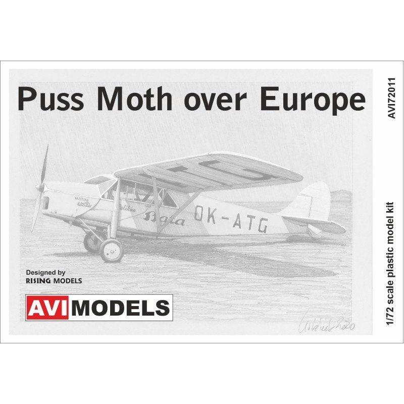 【新製品】AVI72011 デ・ハビランド D.H.80 プス・モス「ヨーロッパ上空」