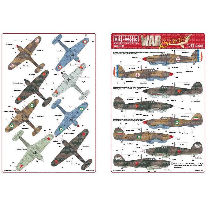【新製品】KW148167 ホーカー ハリケーン Mk.I/IIb/IIc/Trop
