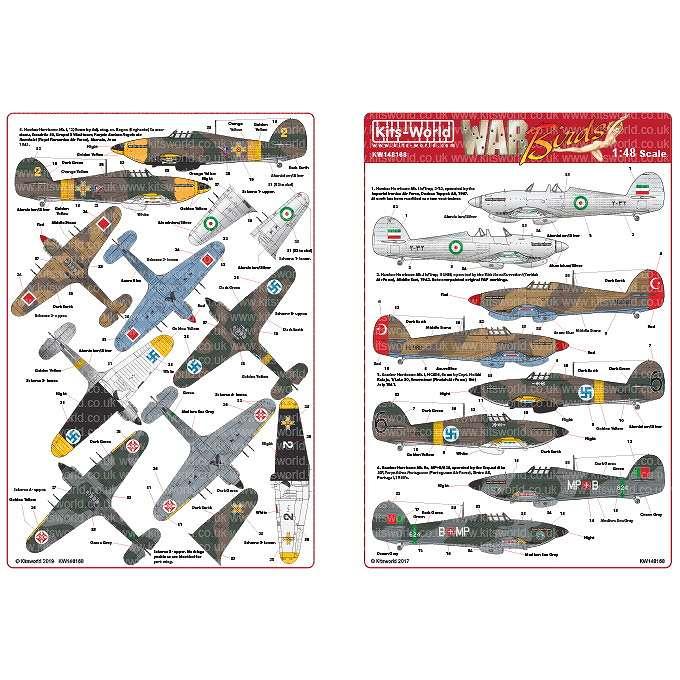 【新製品】KW148168 ホーカー ハリケーン Mk.I/IIc/Trop