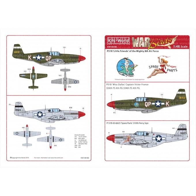 【新製品】KW148180 P-51B マスタング