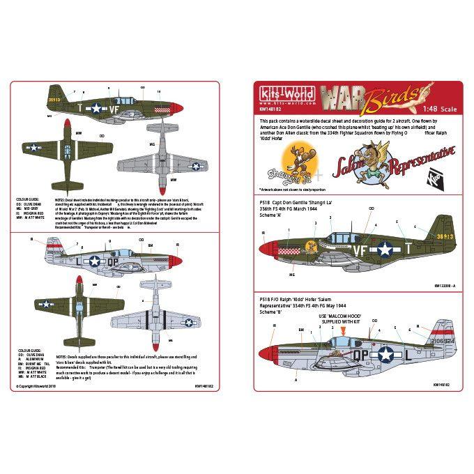 【新製品】KW148182 ノースアメリカン P-51B マスタング