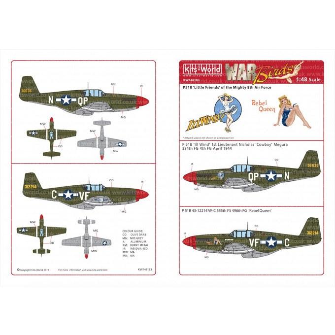 【新製品】KW148183 P-51B マスタング