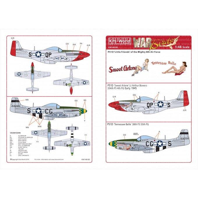 【新製品】KW148185 P-51D マスタング