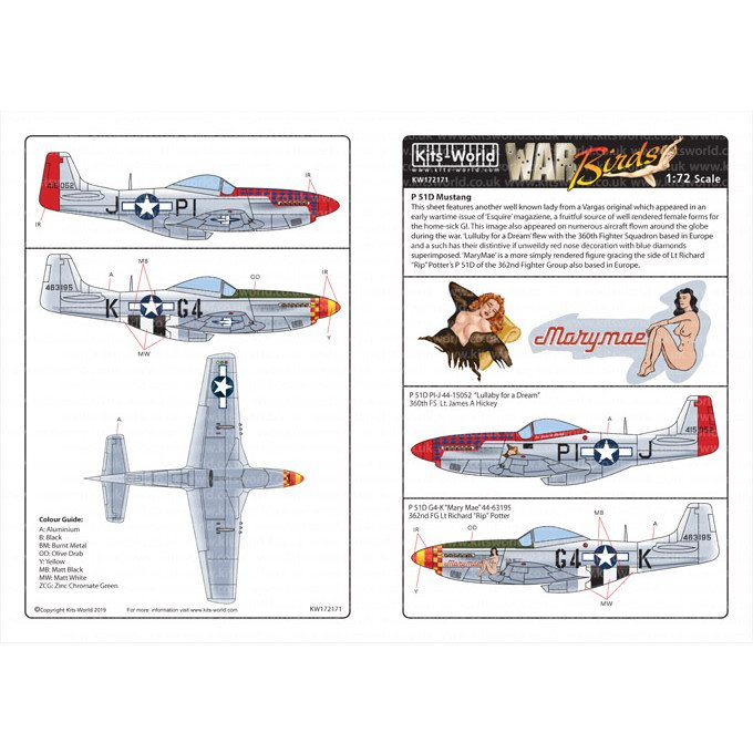 【新製品】KW172171 P-51D マスタング