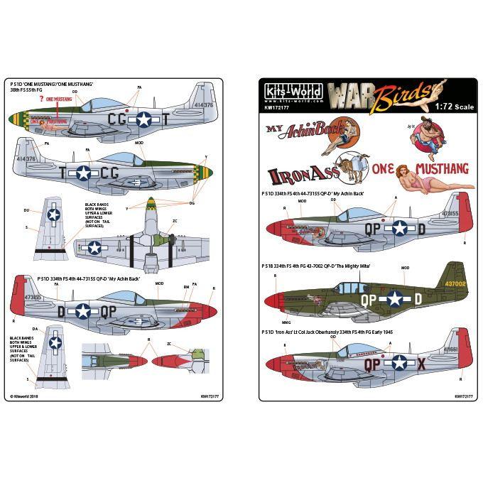 【新製品】KW172177 ノースアメリカン P-51D/B マスタング