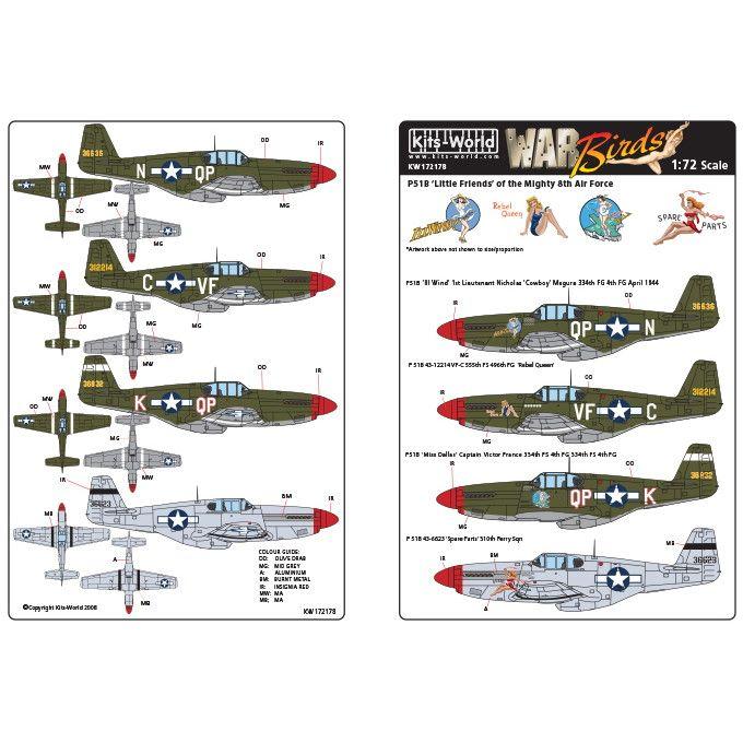 【新製品】KW172178 ノースアメリカン P-51B マスタング