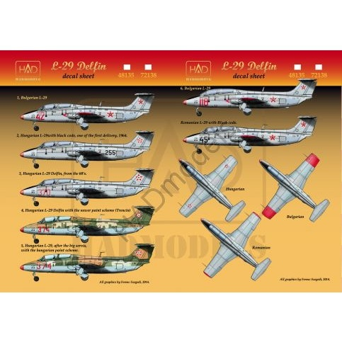 【新製品】D72138 アエロ L-29 デルフィン ハンガリー