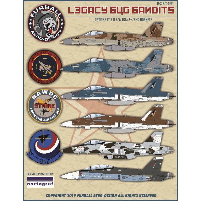 【新製品】32-004 F/A-18A/A+/B/C ホーネット Legacy Bug Bandits