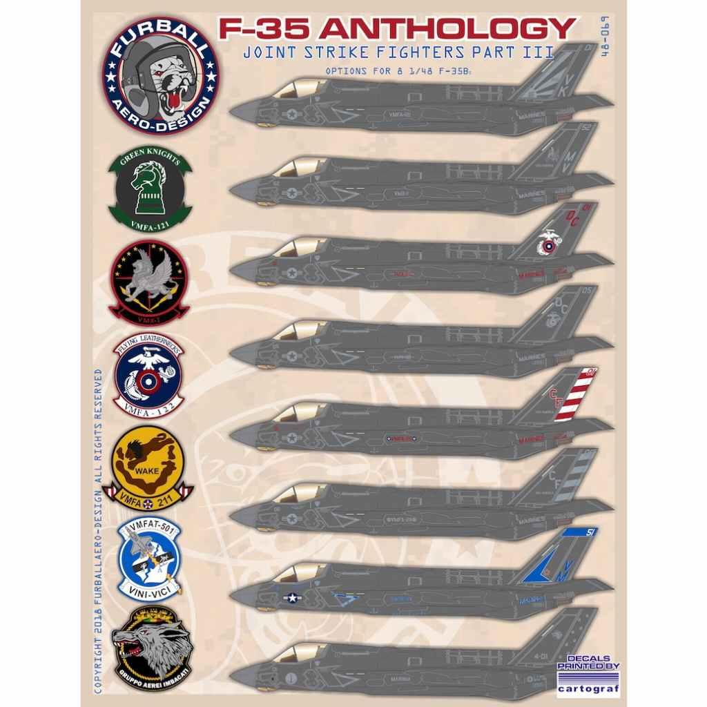 【新製品】48-069 ロッキードマーティン F-35B ライトニングII アンソロジー