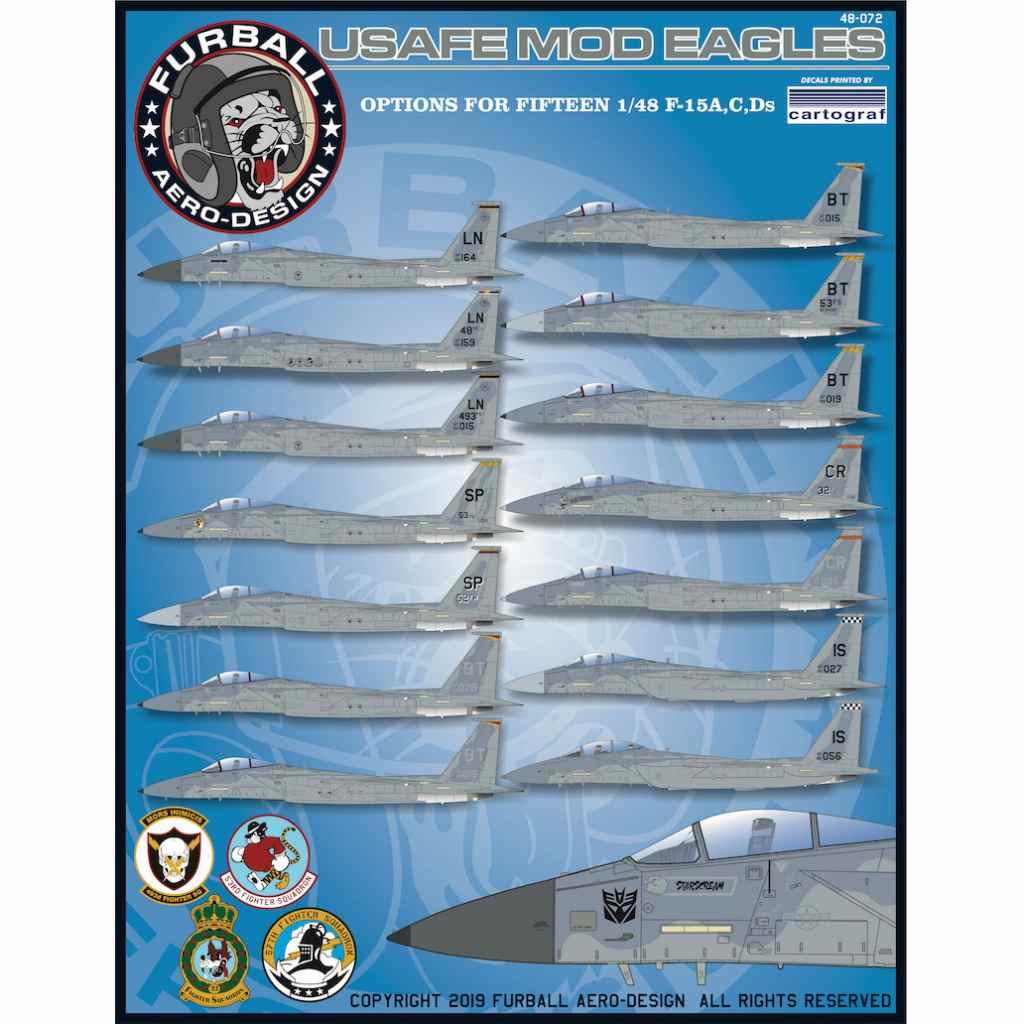 【新製品】48-072 アメリカ空軍 F-15A/C/D イーグル
